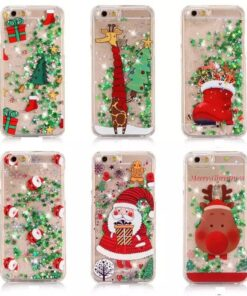Glitter Christmas Phone Case