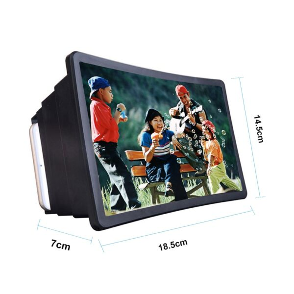 Mobile Phone Screen Magnifier Video Expander 3D Screen Amplifier Stand Holder for Movie Display Magnifying Screen 1