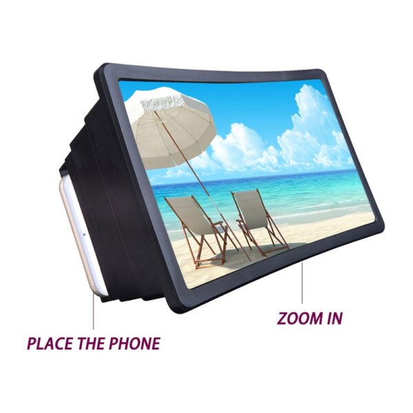 Mobile Phone Screen Magnifier Video Expander 3D Screen Amplifier Stand Holder for Movie Display Magnifying Screen 4