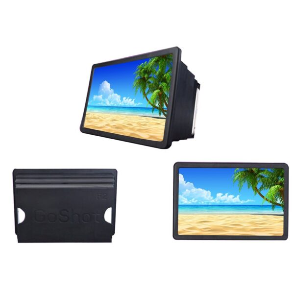 Mobile Phone Screen Magnifier Video Expander 3D Screen Amplifier Stand Holder for Movie Display Magnifying Screen 5