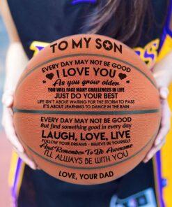 Engraved Basketball, Engraved Basketball