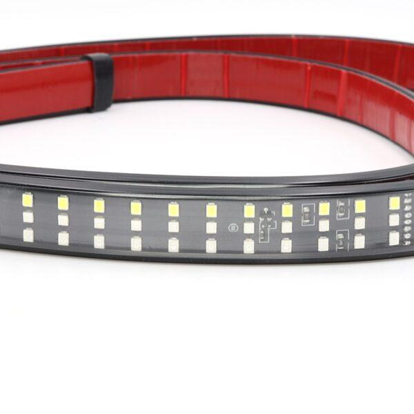 Niscarda 60 Truck Tailgate LED Strip Light Bar Triple Row 5 Function With Reverse Brake Turn 2