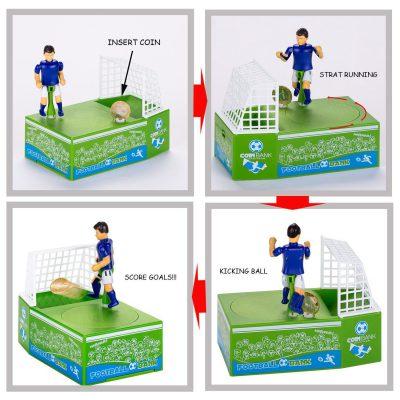 Soccer Shooting Coin Bank, Soccer Shooting Coin Bank