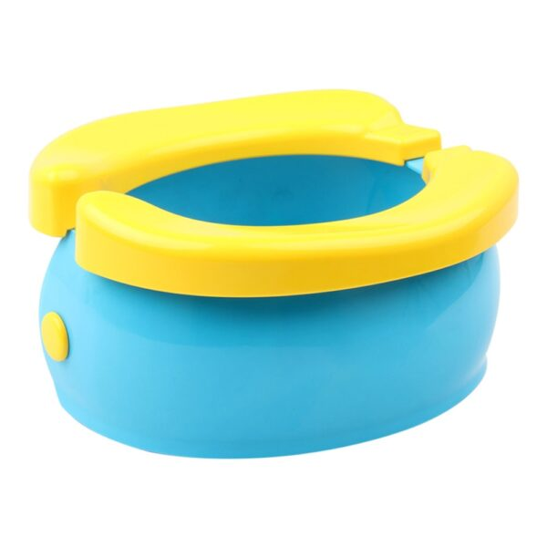 Portable Baby Infant Foldable Chamber Pots Foldaway Toilet Urinal Training Seat Travel Potty Rings For Kids 1