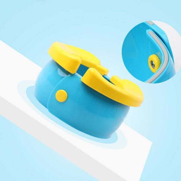 Portable Baby Infant Foldable Chamber Pots Foldaway Toilet Urinal Training Seat Travel Potty Rings For Kids 3