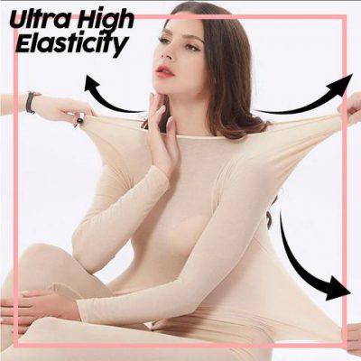 Seamless Elastic Thermal Inner Wear Set, Seamless Elastic Thermal Inner Wear Set