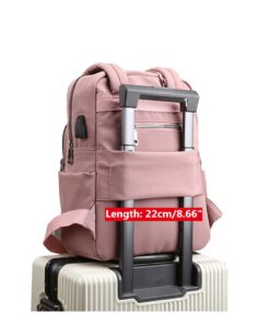 Women Canvas Casual Patchwork Backpack, Women Canvas Casual Patchwork Backpack