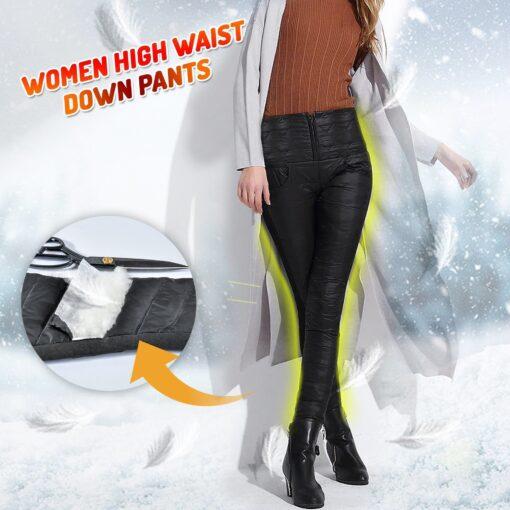 Women High Waist Down Pants, Women High Waist Down Pants