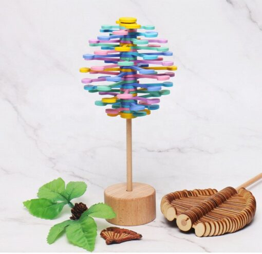 Magic Wand Stress Relief Toy Rotating Lollipop, Magic Wand Stress Relief Toy Rotating Lollipop