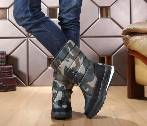 Winter Warm Thickening Fur Lined Snow Boots, Winter Warm Thickening Fur Lined Snow Boots