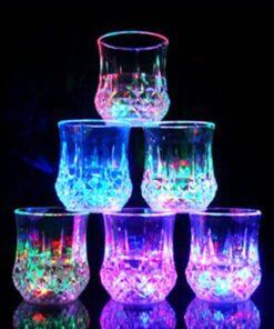 Liquid Activated Multicolor LED Glasses, Liquid Activated Multi-color LED Glasses