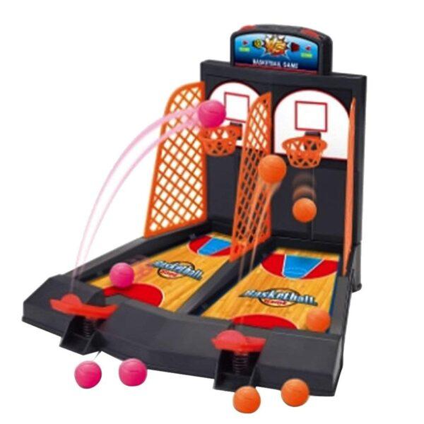 Family Fun Toys Mini Basketball Shoot Finger Games For Children 2