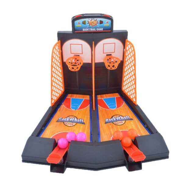 Family Fun Toys Mini Basketball Shoot Finger Games For Children 3