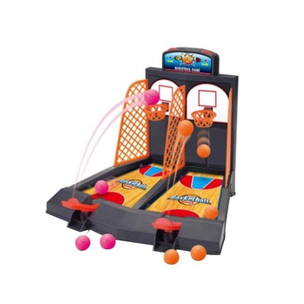 Family Fun Toys Mini Basketball Shoot Finger Games For Children 4