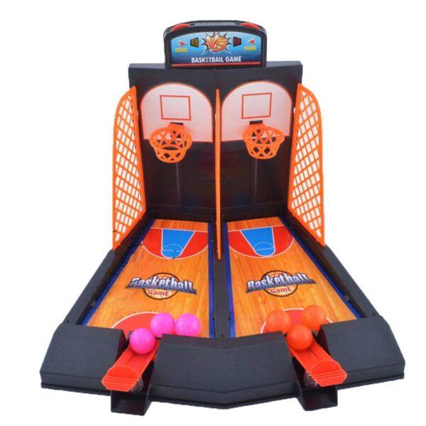 Family Fun Toys Mini Basketball Shoot Finger Games For Children 5