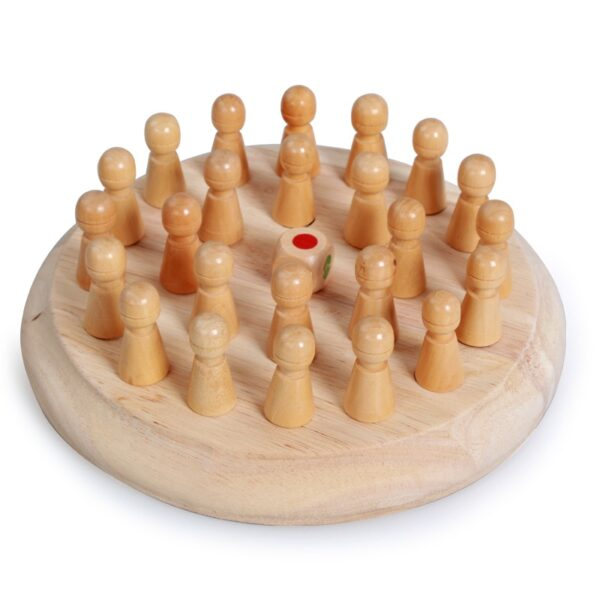 Kids party game Wooden Memory Match Stick Chess Game Fun Block Board Game Educational Color Cognitive 2
