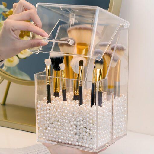 Pagpipos sa Brush sa makeup, makeup Brush Holder
