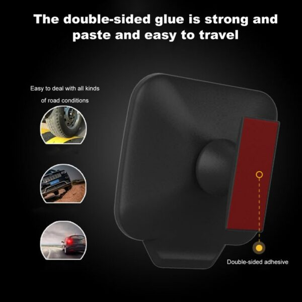 New Durable Adjustable 270 Degree Wide angle Lens Design Car Rear Seat Rearview Mirror Backseat Blind 2