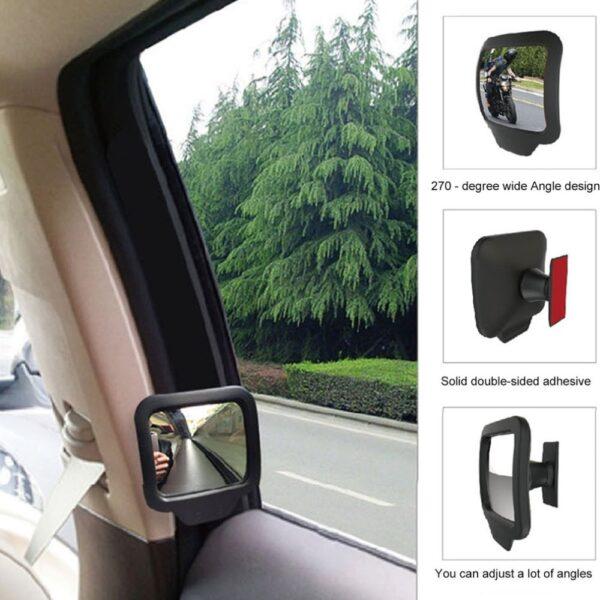 Car Back Seat Rear Mirror