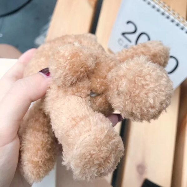 Winter Cute Plush Bear for Apple Airpods Case1 2 Teddy Bear Bags for Cartoon Headphones Case 3