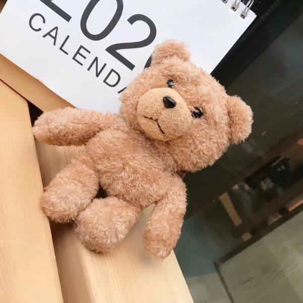 Winter Cute Plush Bear for Apple Airpods Case1 2 Teddy Bear Bags for Cartoon Headphones Case 5
