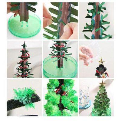 Magic Crystal Christmas Tree, Magic Crystal Christmas Tree
