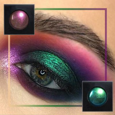 Multi-Chrome Shade Shifting Makeup, Multi-Chrome Shade Shifting Makeup