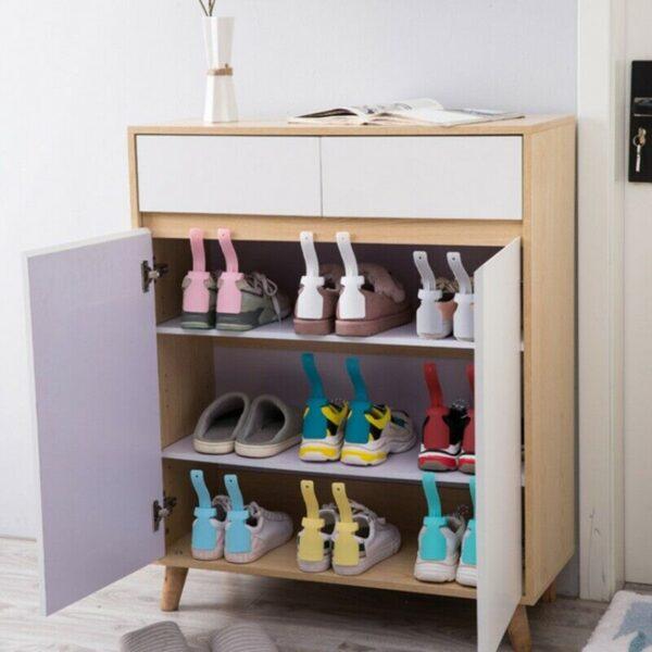 2PCS Lazy Unisex Wear Shoe Horn Helper Shoehorn Shoe Easy on and off Shoe Sturdy Slip 3