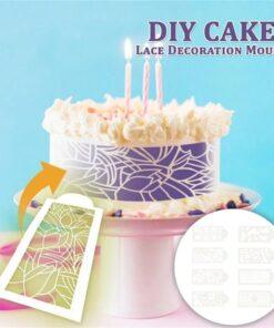 Cake Lace Decoration Mould, Cake Lace Decoration Mould