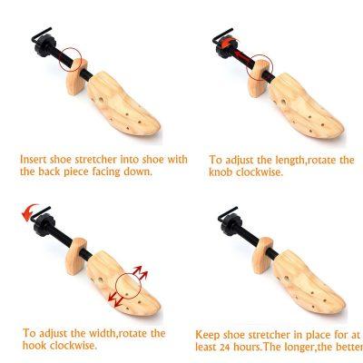 Wooden Shoe Stretcher, Wooden Shoe Stretcher