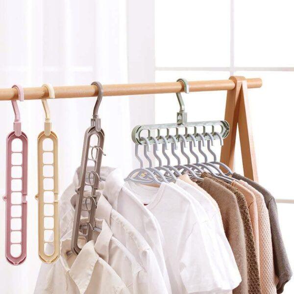 Multi-Port Clothes Hanger