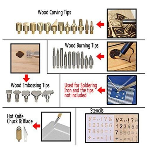 Professional Wood Burning Set, Professional Wood Burning Set