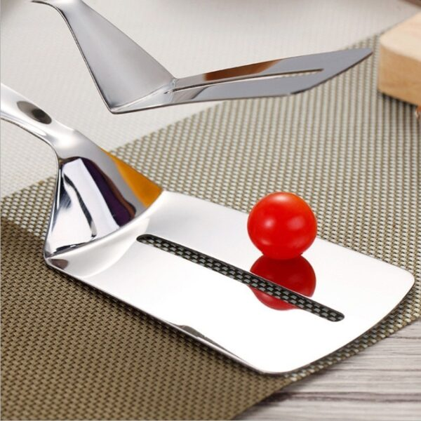 Kitchen accessories Stainless Fried Steak Shovel Barbecue Tongs Fish Shovel BBQ Clamp utensils Bread meat clip 4