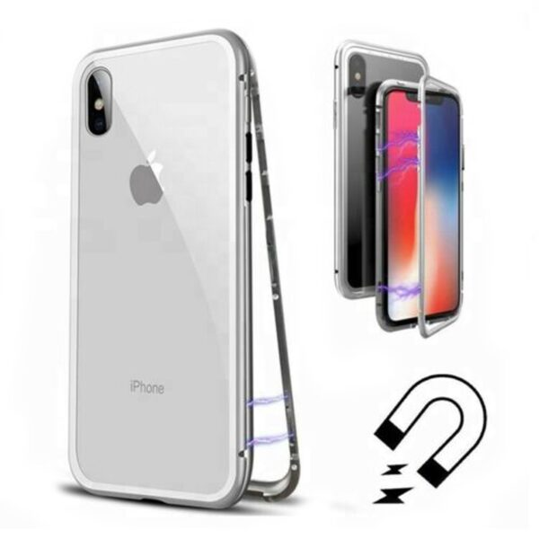 Metal Magnetic Adsorption Case For iphone 11 XR 7 8 Plus X XS Pro Max 6 2