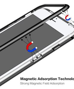 Original Magnetic Adsorption Transparent iPhone Case, Original Magnetic Adsorption Transparent iPhone Case