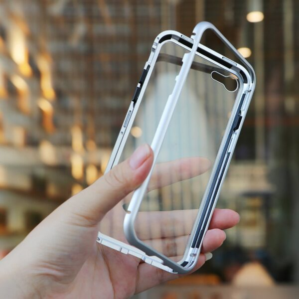 Metal Magnetic Adsorption Case For iphone 11 XR 7 8 Plus X XS Pro Max 6 5