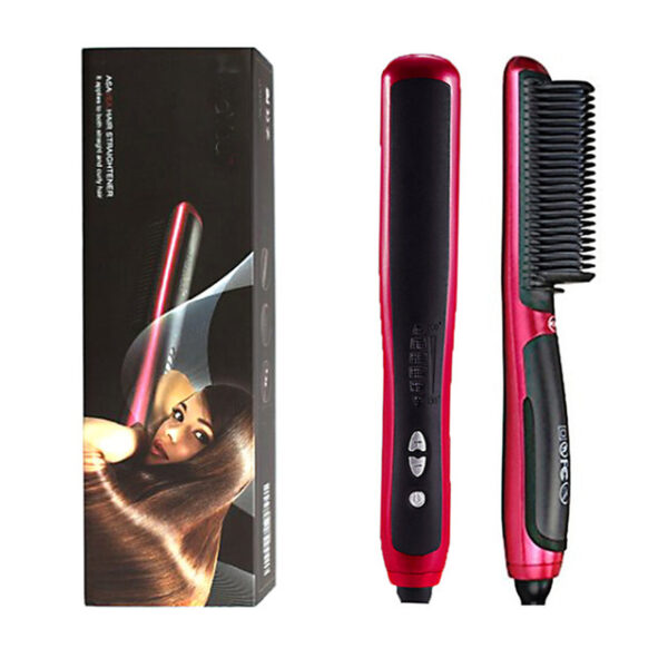 Multifunctional Beard Straightener Styler Brush Men Heat Hair Ceramic Curler Electric Straightener Hot Comb Hair Care 1.jpg 640x640 1