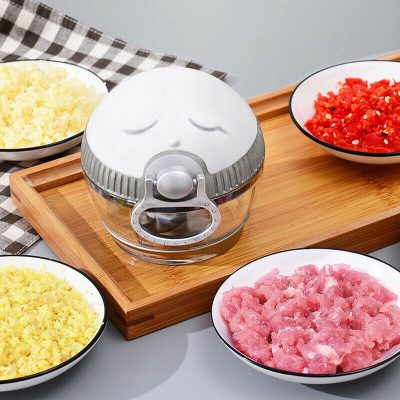 Hand-Drawn Multifunctional Garlic Food Chopper, Hand-Drawn Multifunctional Garlic Food Chopper