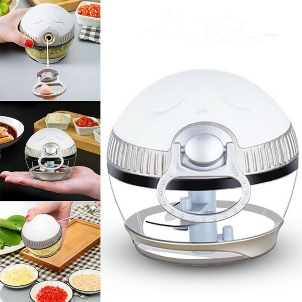 NEW Manual Meat Grinder Chopper Garlic Cutter Safety and Non toxicity Food Slicer Durable Portable Kitchen 3