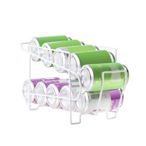 Double Layer Can Rack Holder, Double Layer Can Rack Holder