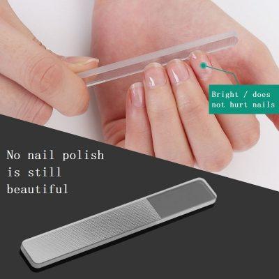 Nano Polished Glass Nail File, Nano Polished Glass Nail File