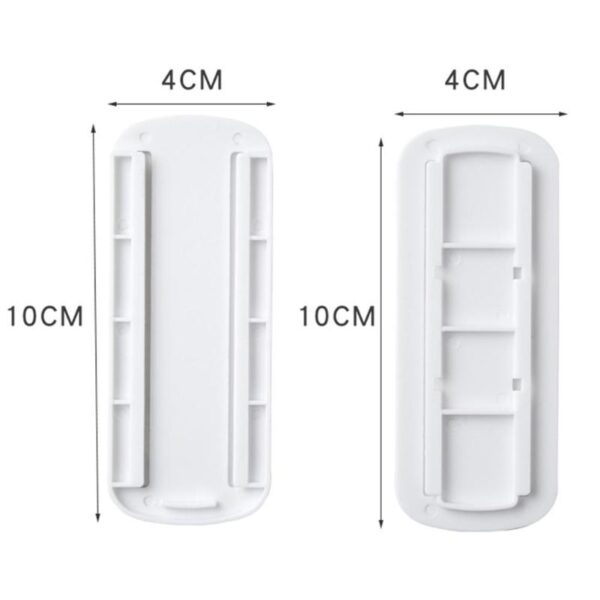 Self adhesive Socket Fixer Wall Mounted Remote Control Router Sticker Cable Wire Organizer Home Holder Storage 1