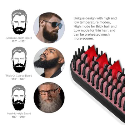 3 in1 Beard Straightener, 3 in1 Beard Straightener