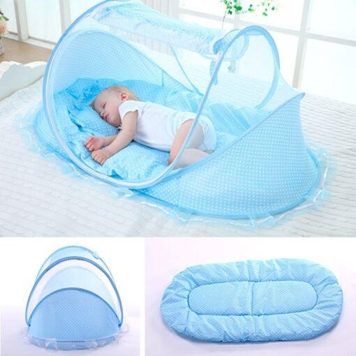 Foldable Net Crib, 4-1 Baby Foldable Net Crib
