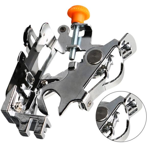Household Sewing Machine Ruffler Presser Foot Low Shank Pleated Attachment Presser Foot Sewing Machine Accessories 2