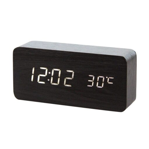 LED Wooden Alarm, LED Wooden Alarm