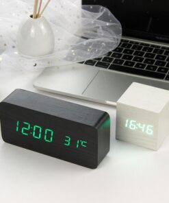 LED Wooden Alarm