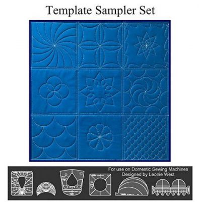 Quilting Template Set, Quilting Template Set