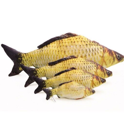 ของเล่น Catnip Fish Toy Catnip Fish
