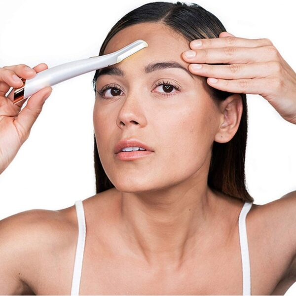 Electric Face Eyebrow Hair Remover Epilator Mini Eyebrow Shaver Razor Instant Painless Shaving Eyebrow Trimme 1